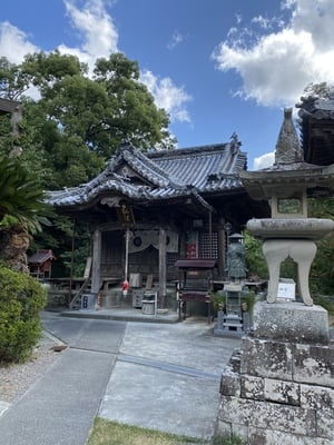 切幡寺の本殿