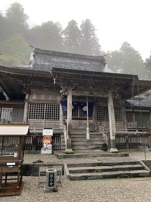 焼山寺の本殿