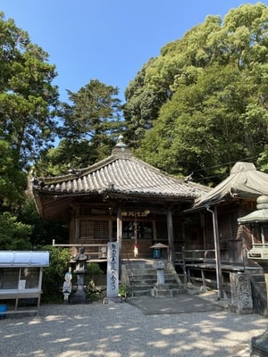 恩山寺の本殿