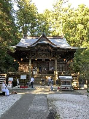 太龍寺の本殿