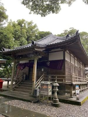 最御崎寺の本殿