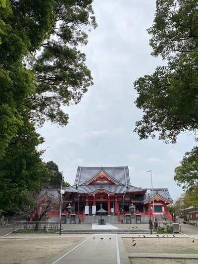鳳凰山 甚目寺の本殿