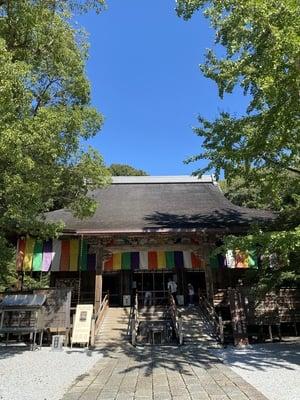 竹林寺の本殿