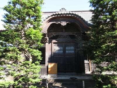 福増寺の本殿