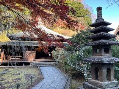 東慶寺の本殿