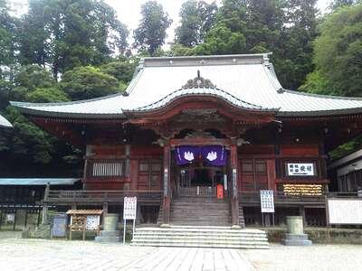 清澄寺の本殿