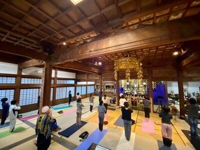 陽興寺の体験その他