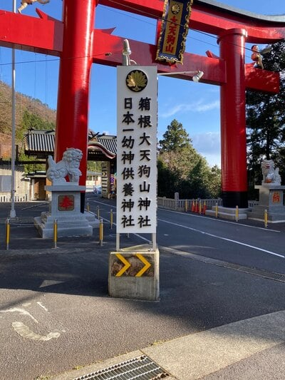 箱根大天狗山神社(神奈川県)