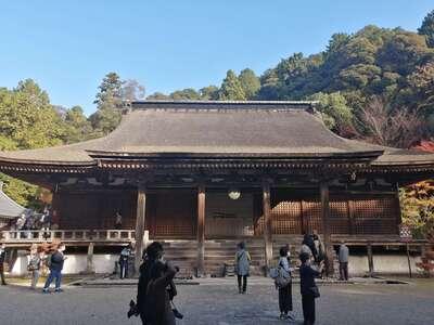 西明寺の本殿