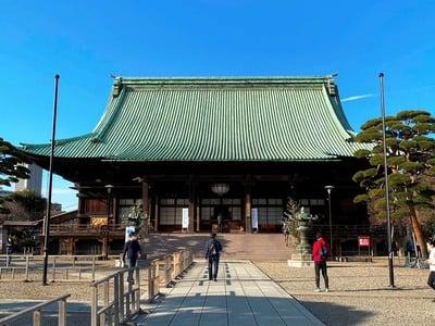 護国寺の本殿