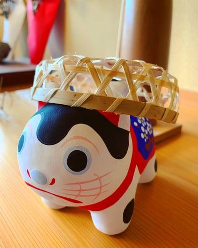 滑川神社 - 仕事と子どもの守り神の狛犬