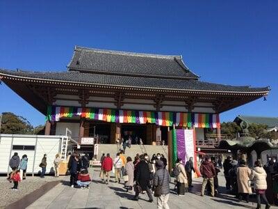 西新井大師総持寺の本殿