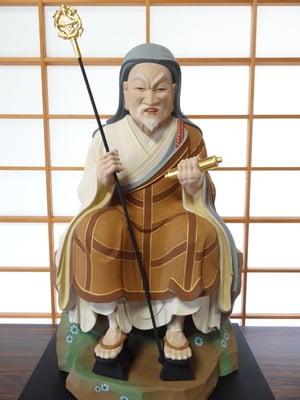 普門寺(切り絵 御朱印の寺)の像