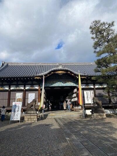 御香宮神社の本殿
