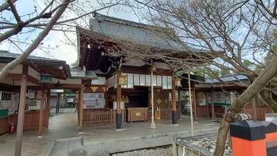 車折神社の本殿