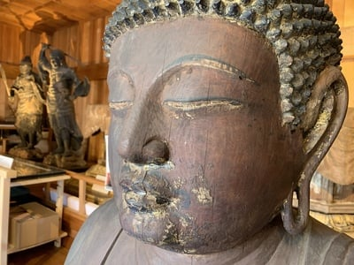 普門寺(切り絵 御朱印の寺)の仏像