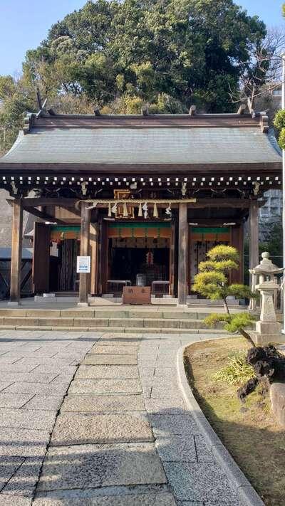 太田杉山神社・横濱水天宮の本殿