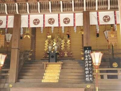 日牟禮八幡宮の本殿