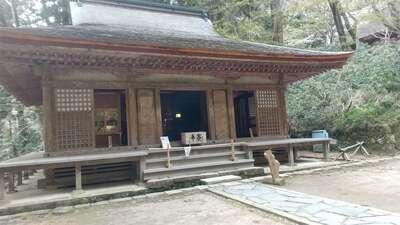 室生寺の本殿