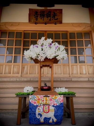 光明寺のお祭り