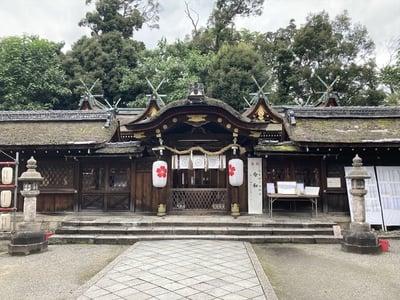平野神社の本殿
