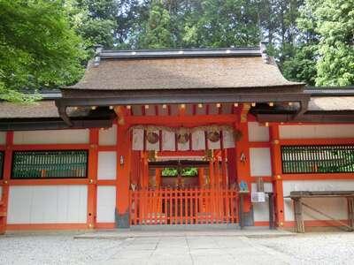 大原野神社の本殿