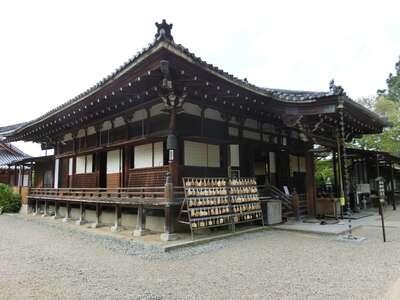 大安寺の本殿