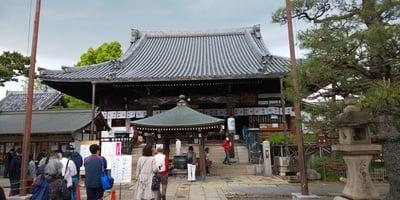 葛井寺の本殿