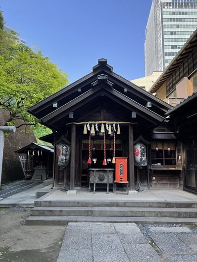 久國神社の本殿