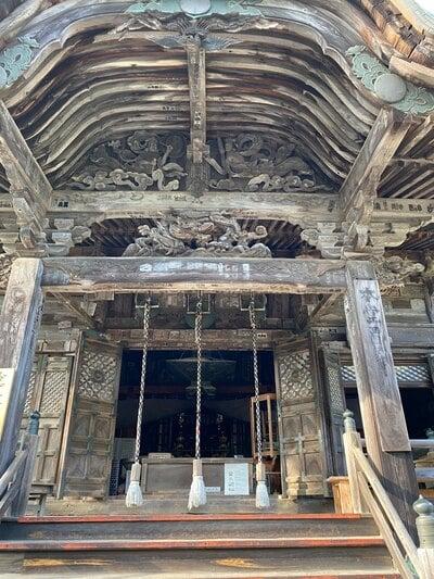松尾寺の本殿