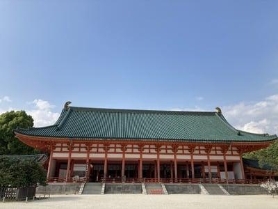平安神宮の本殿