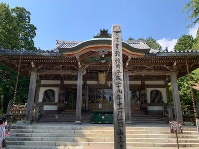 播州清水寺の本殿