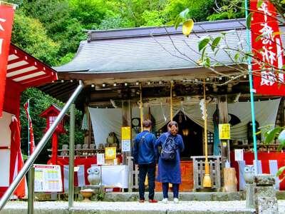 鷲子山上神社の本殿