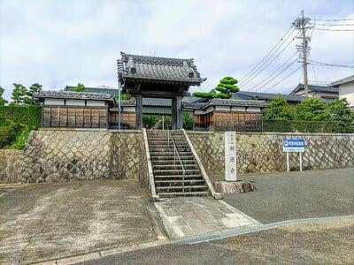 禅源寺の山門