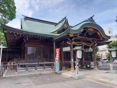 海神社の本殿