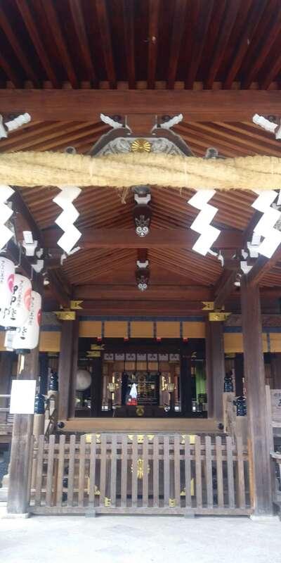 多賀大社の本殿