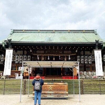 大阪天満宮の本殿