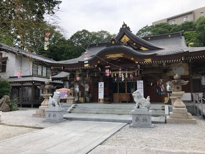 伊和志津神社の本殿
