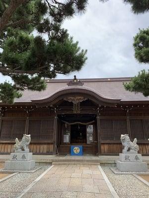 舞子六神社の本殿