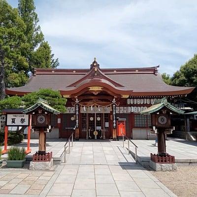 阿部野神社の本殿
