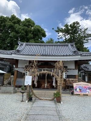 水堂須佐男神社の本殿