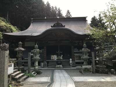 横峰寺の本殿