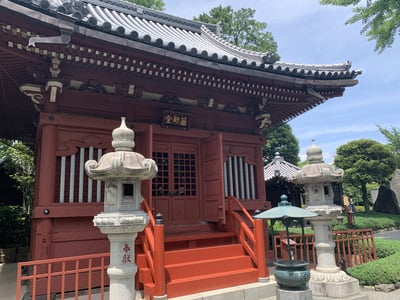 浅草寺の本殿