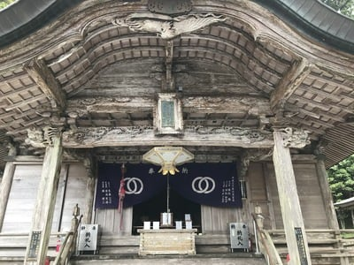 神峯寺の本殿