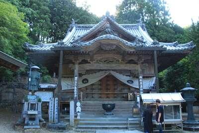 藤井寺の本殿