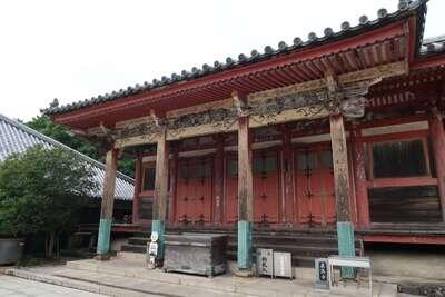 屋島寺の本殿